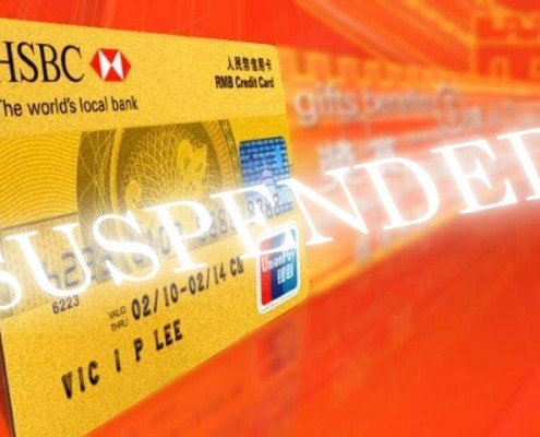 Hong Kong HSBC bank account is suspended: AsiaBC Blog