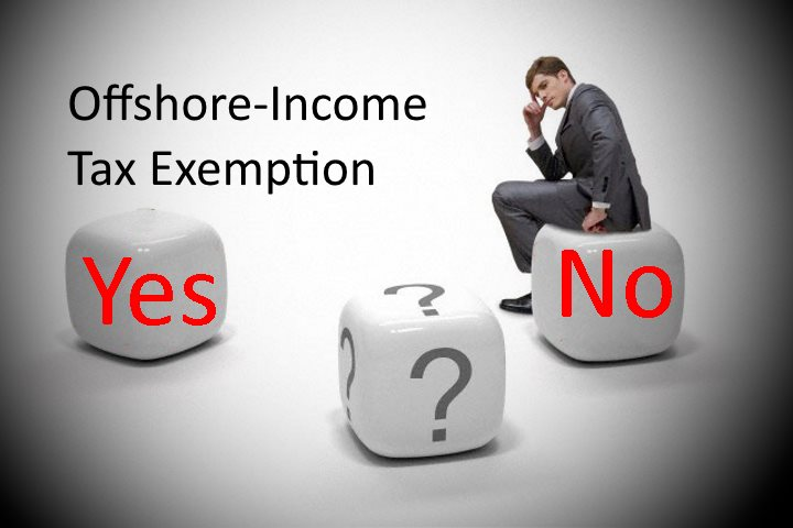 4 questions to proof your offshore-sourced income tax exemption
